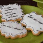 Os biscoitos doces receberam frases famosas dos personagens - Reprodução/Instagram