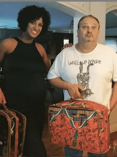 O casal Rosangela e Erick Jacquin - Reprodução/Instagram