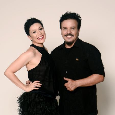 Paty e Luciano, do Trem da Alegria - Divulgação