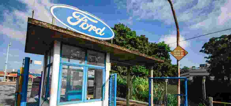 Fábrica da Ford está fechada desde outubro de 2019 - MARCELO GONCALVES/SIGMAPRESS/ESTADÃO CONTEÚDO