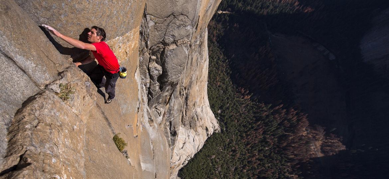 """Alex Honnold escalou a montanha El Capitan, um feito registrado no documentário """"Free Solo"""" - National Geographic/Jimmy Chin"""