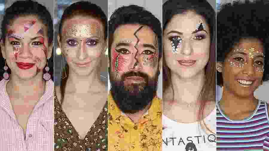 maquiagem - tutorial montagem - Gabriela Cais Burdmann/UOL