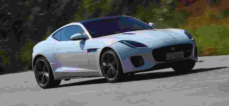 Jaguar F-Type na versão Coupé - Murilo Góes/UOL