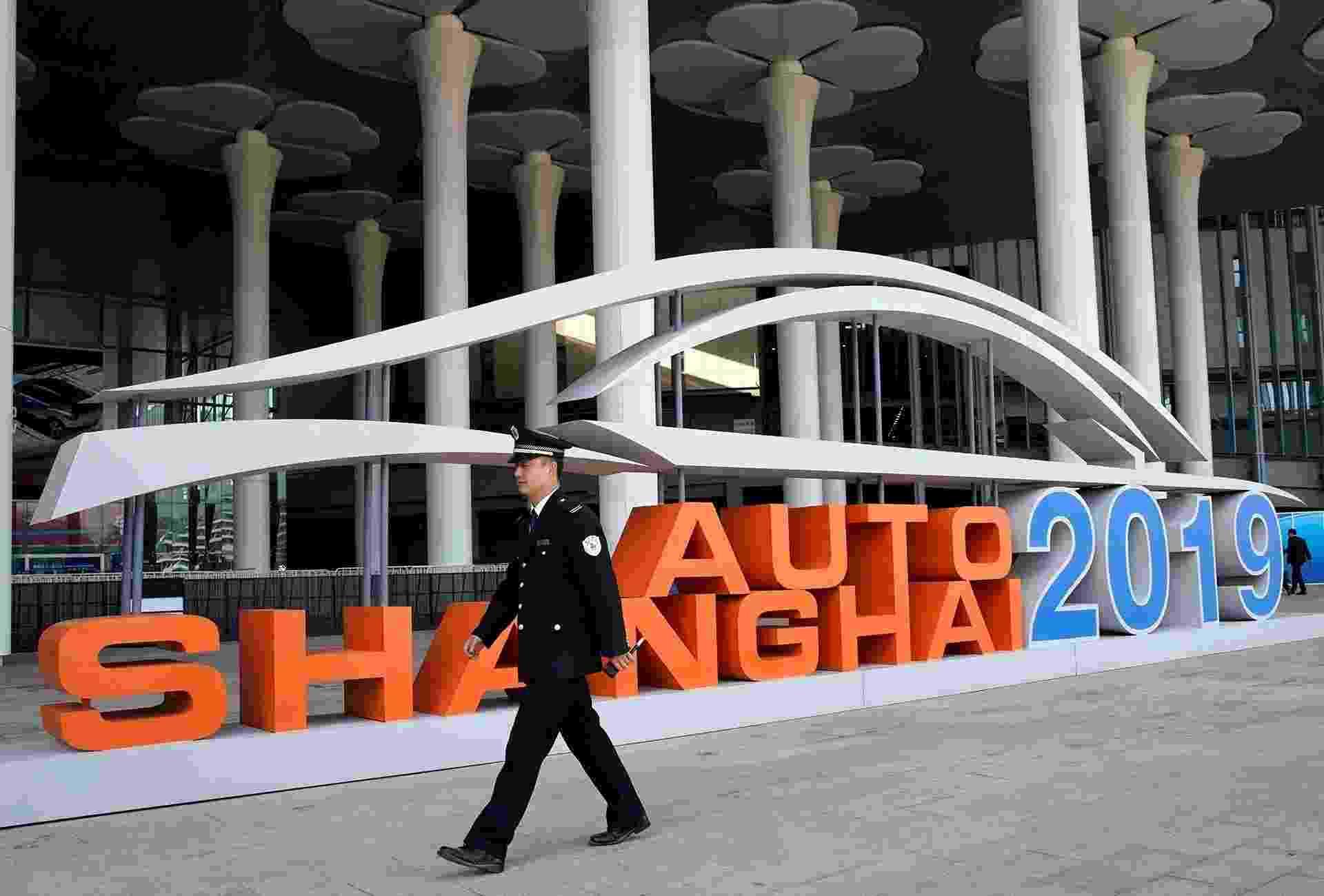 Salão de Xangai 2019 - Aly Song/Reuters