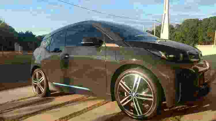 BMW i3 de Coelho e sua mulher perdeu cerca de 15% da carga das baterias em pouco mais de 3 anos de uso - Arquivo Pessoal