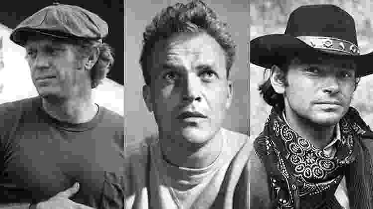 Steve McQueen, Ralph Meeker e Pete Duel - Reprodução