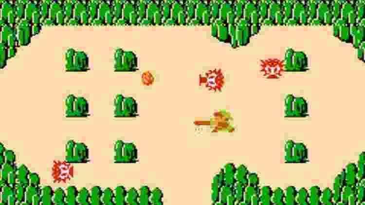 Primeiro Zelda também pode ser jogado no Switch - Reprodução
