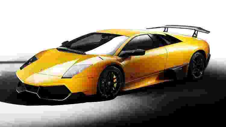 Lamborghini Murciélago LP 670-4 SV - Divulgação - Divulgação