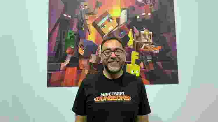 Jaime Limón Minecraft - Rodrigo Lara/UOL - Rodrigo Lara/UOL