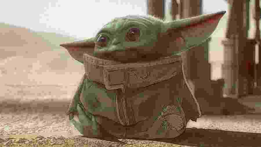 Arte conceitual do Bebê Yoda, revelada por Jon Favreau - Reprodução