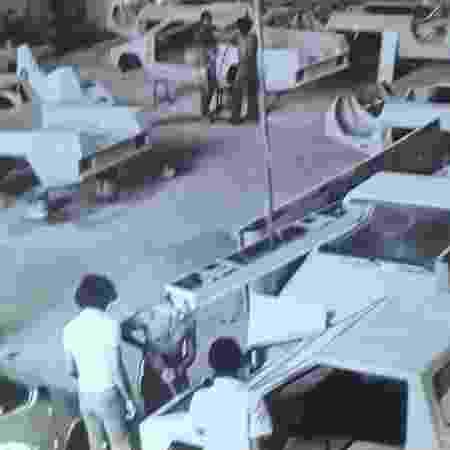 Renha Formigão fábrica - Arquivo Pessoal - Arquivo Pessoal