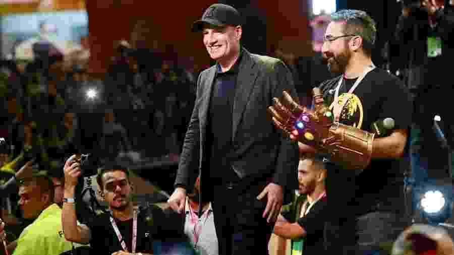 Kevin Feige atendeu fãs da Marvel na CCXP - Iwi Onodera/UOL