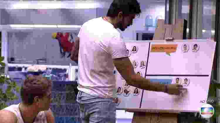 Guilherme diz que Lucas é influenciador e Felipe é influenciado - Reprodução/TV Globo