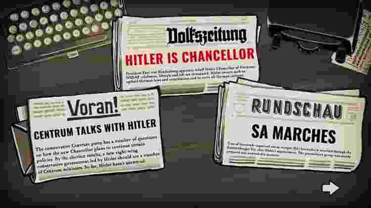 Notícias contam a história de horror da ascensão do nazismo - Reprodução