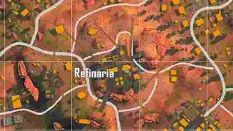 Free Fire Refinaria - Reprodução - Reprodução