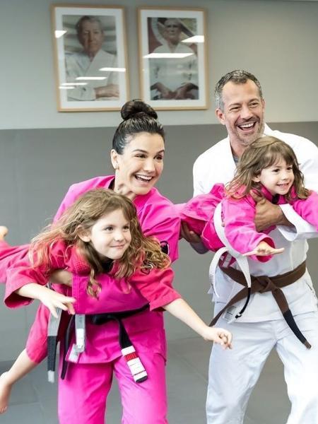 Pentacampeã mundial de jiu-jítsu diz que período de isolamento tem servido para autoconhecimento e proximidade com a família - Reprodução/eumalvinosalvador