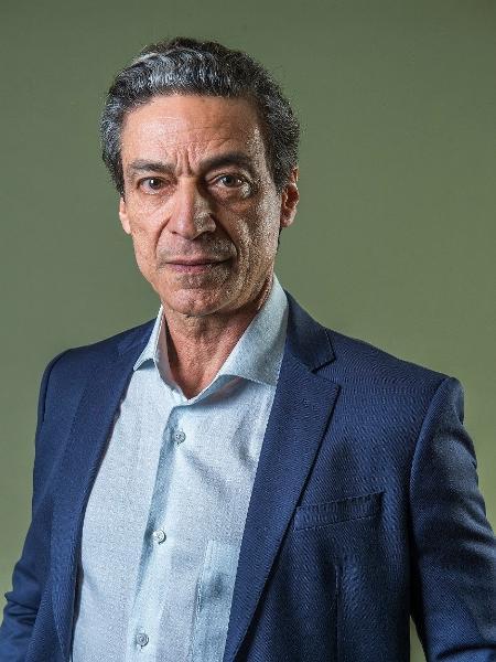 "Luiz Carlos Vasconcelos vive o vilão Miguel em ""Aruanas"" - Globo/Fábio Rocha"