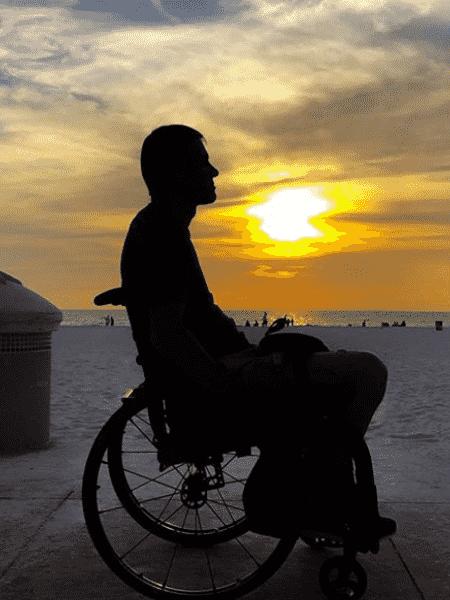 marcos - clearwater beach - deficientes - Arquivo pessoal - Arquivo pessoal