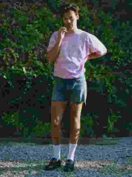 Cantor apareceu no terceiro episódio da Gucci Fest - Reprodução - Reprodução
