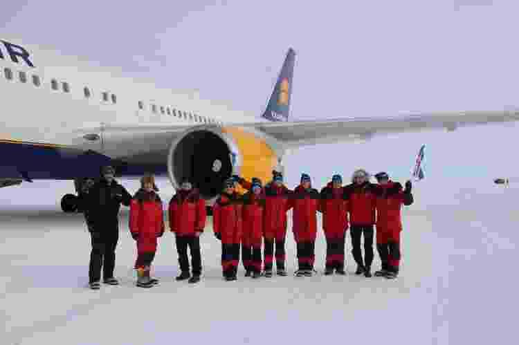 Viagem contou com longos quilômetros para levar cientistas de volta para a casa na Islândia - Reprodução/Icelandair - Reprodução/Icelandair