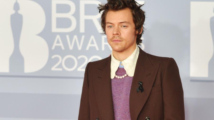 Harry Styles no BRIT Awards 2020 - Jim Dyson/Redferns