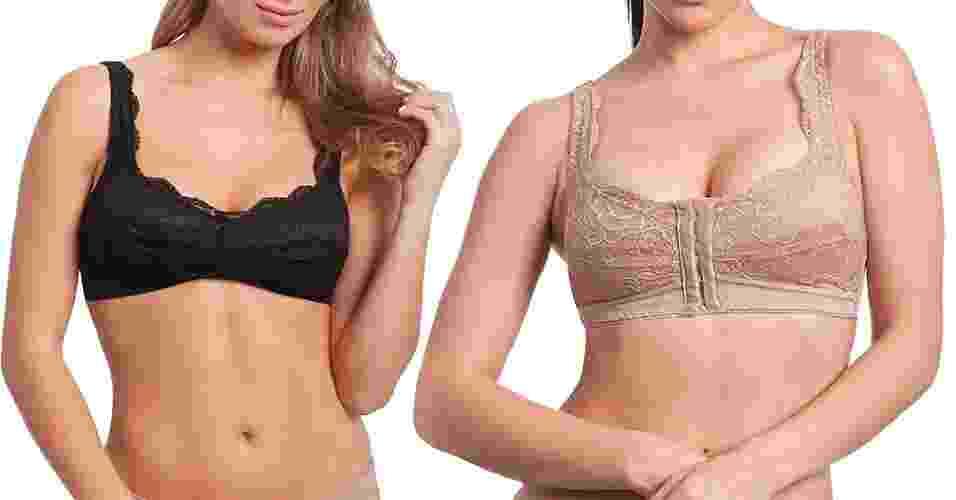 Sutiãs especiais para mastectomizadas - Divulgação