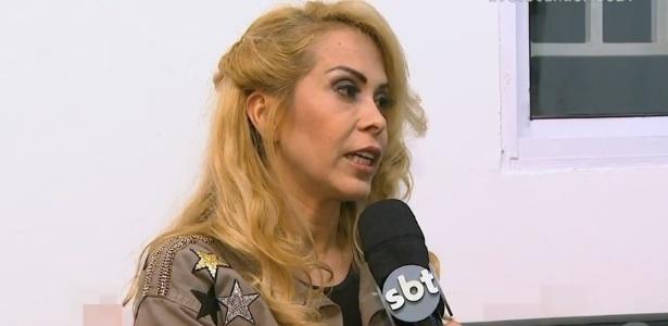 Joelma diz não querer se aproximar de Ximbinha e fala sobre perdão a pai - Reprodução/SBT.com.br