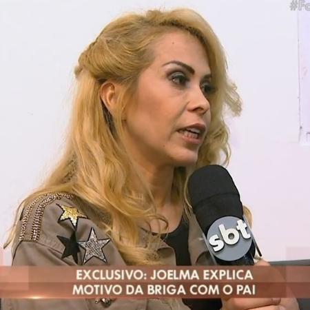 """Joelma diz que tem """"dedo podre"""" para homem - Reprodução/SBT.com.br"""