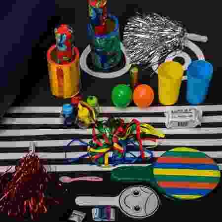 Objetos do kit estimulam sentidos dos bebês - Divulgação