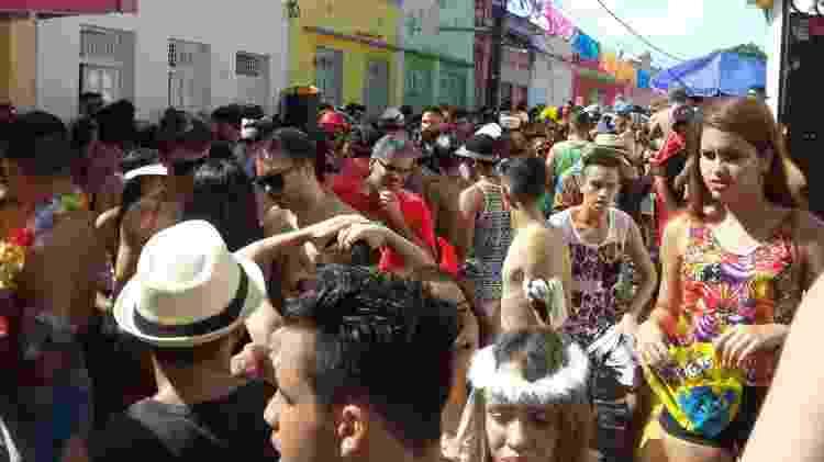 foto da matéria de UOL Carnaval sobre homofobia no Carnaval de Olinda - Daniel Lisboa/UOL - Daniel Lisboa/UOL