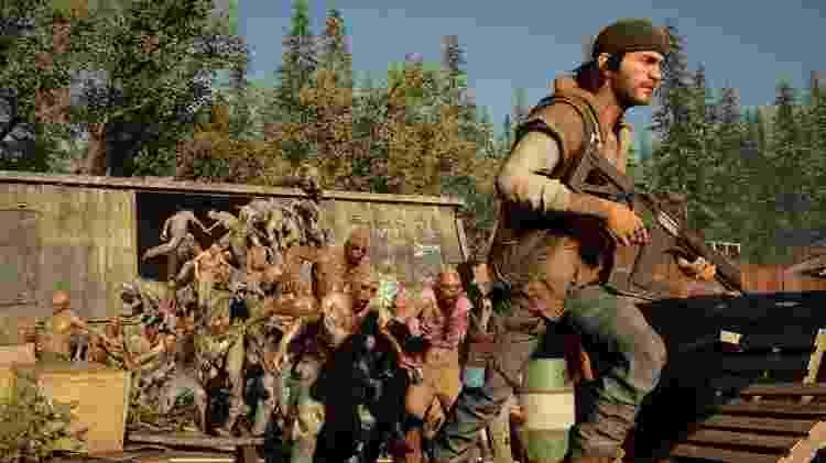 Quando uma horda de Frenéticos surge, você pode até correr, mas não conseguirá ir muito longe sem um plano - Divulgação/Sony Interactive Entertainment