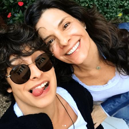 Helena Ranaldi e o filho - Reprodução/Instagram/helenaranaldi
