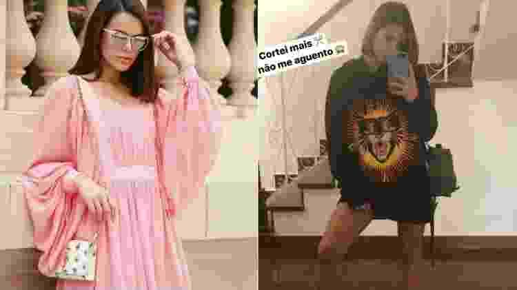 Bruna Marquezine antes e depois: diferença mínima - Reprodução/Instagram - Reprodução/Instagram