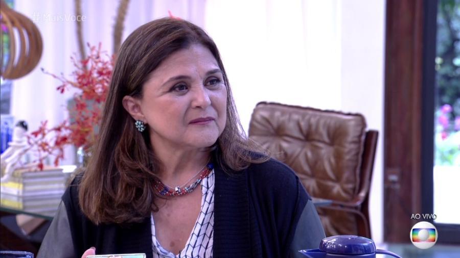 """Elizângela fala sobre drama de Aurora de """"A Força do Querer"""" no """"Mais Você""""  - Reprodução/Globo"""
