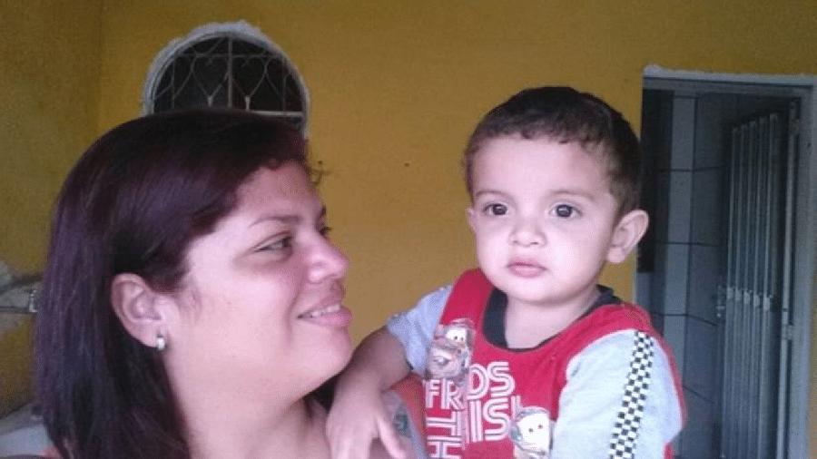 A mãe de Davi pensava que o menino tinha bronquite, mas exames no hospital apontaram que era pneumonia  - Arquivo Pessoal