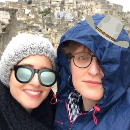 Carol Duarte e a namorada, Aline Klein, na Itália - Reprodução/Instagram/carooolduarte
