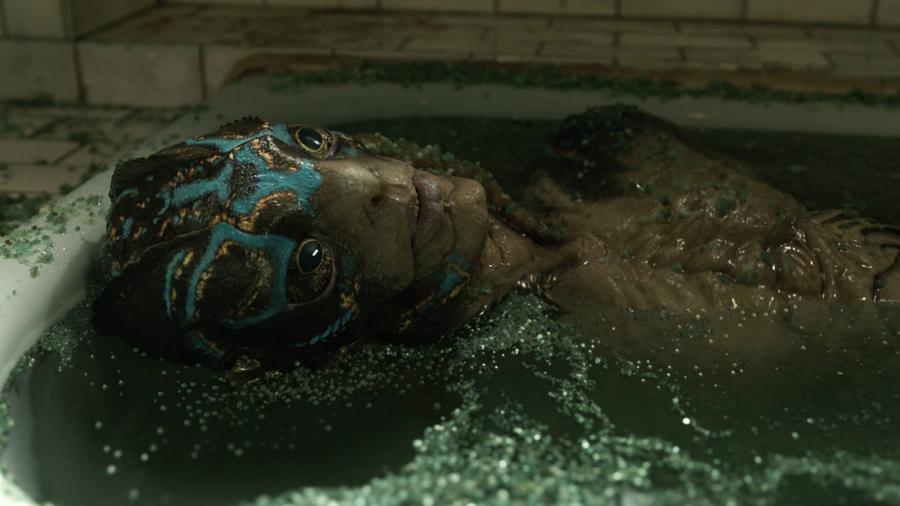 """Doug Jones em cena de """"A Forma da Água"""" - Divulgação"""