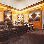 Cinema do apartamento de Luciana Gimenez tem 16 lugares; imóvel tem 2 mil metros quadrados - Divulgação/Sotheby's