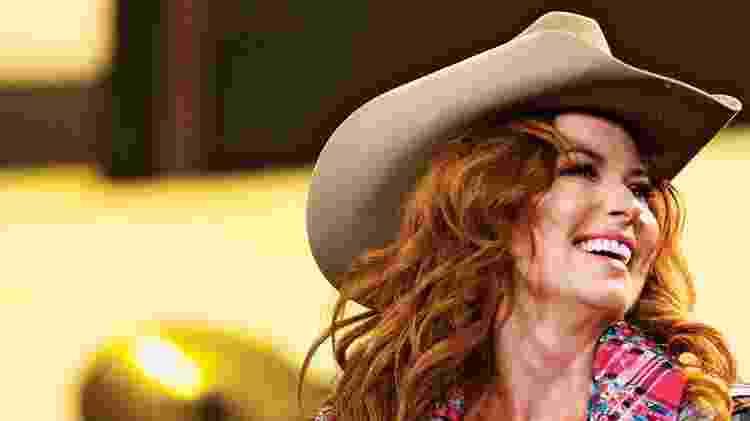 A cantora Shania Twain - Melissa Renwick/Getty Images - Melissa Renwick/Getty Images