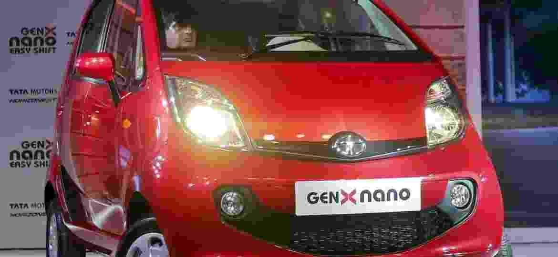 Tata Nano GenX, última remodelação do subcompacto, em 2015... com o passar do tempo, carrinho perdeu o sentido  - Shailesh Andrade/Reuters