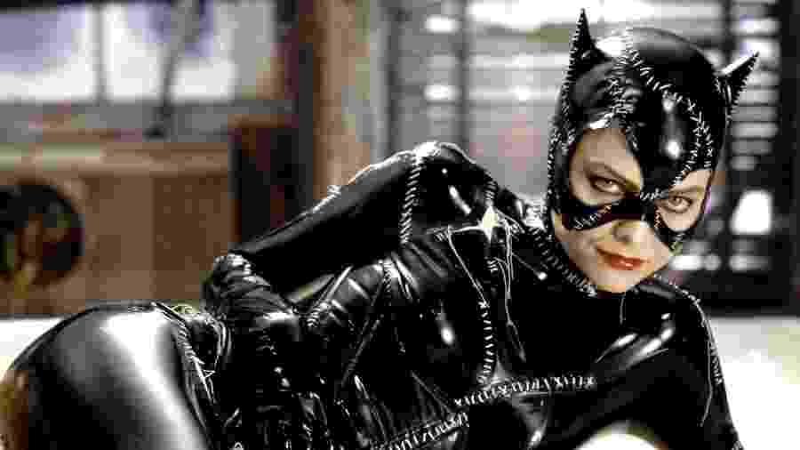 Michelle Pfeiffer como a Mulher-Gato - Reprodução