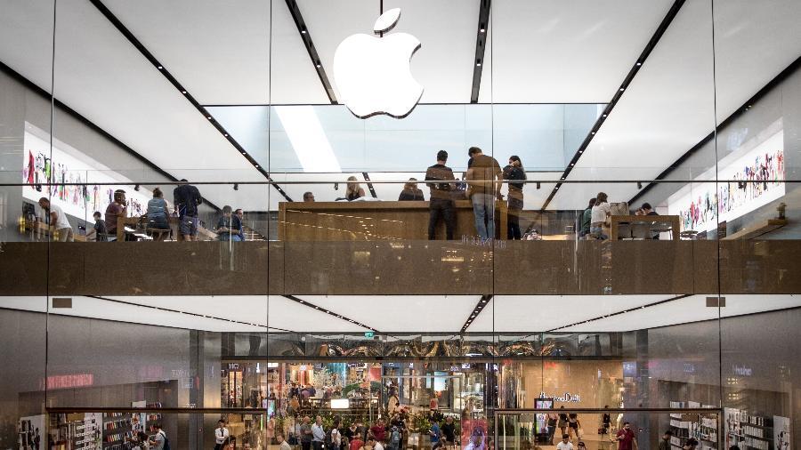 Fachada de loja da Apple na Turquia - Chris McGrath/Getty Images