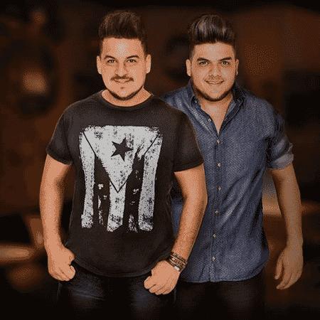 """A dupla Fabio e Guilherme, os """"Gordinhos"""" - Divulgação"""