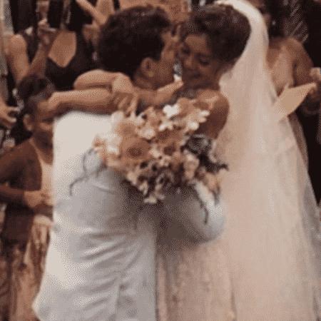 Sophie Charlotte e Daniel de Oliveira comemoram 3 anos de casamento - Reprodução/Instagram