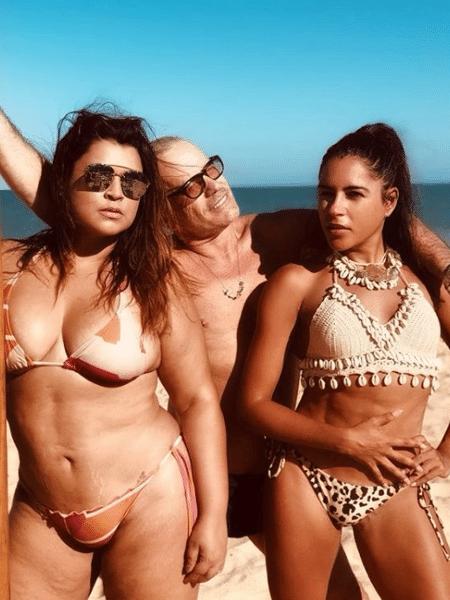 Preta Gil, Giovanni Bianco e Marina Morena - Reprodução/Instagram