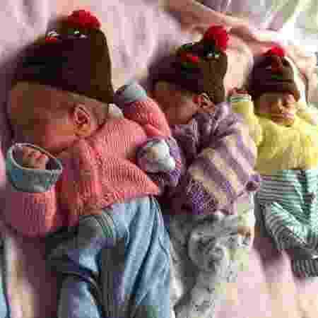 Os filhos de Betty Bienias  - Reprodução/Facebook - Reprodução/Facebook