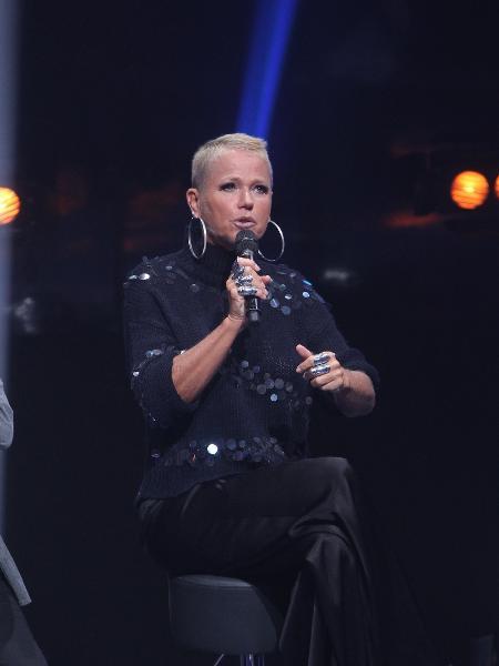 "Xuxa durante evento de lançamento de seu novo programa: ""The Four Brasil"" - Marcello Sá Barreto/Brazil News"