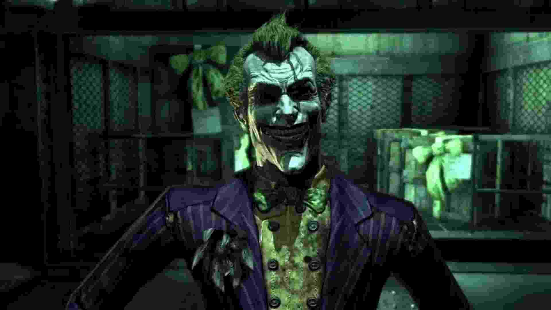 """Mark Hamill em """"Batman: Arkham"""" - Reprodução"""