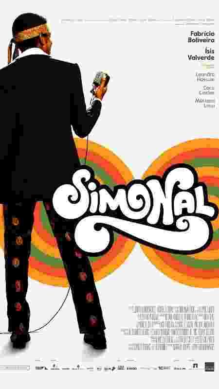 """Pôster oficial da cinebiografia """"Simonal"""" - Divulgação"""