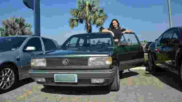 Paula Mascari e seu Voyage 3 - Paula Mascari/arquivo pessoal - Paula Mascari/arquivo pessoal